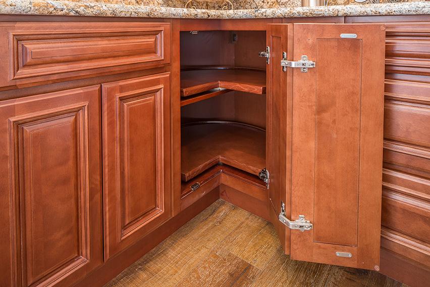 Cherry Wood Kitchen Cabinets Corona