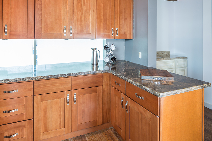 Make Your Kitchen Beautiful With Our Shaker Cherry Kitchen Cabinets Summit Cabinet