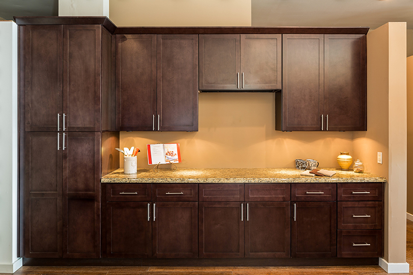 Shaker Espresso Kitchen Cabinets | Shaker Style Cabinets ...