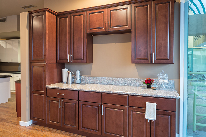 Kingston Brown Kitchen Cabinets Will Make Your Kitchen A