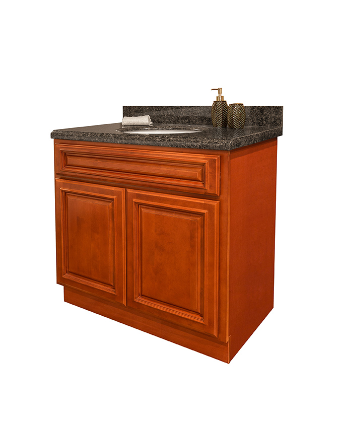 Nothing Says Luxury Quite Like Custom Cherry Bathroom Cabinets Summit Cabinet