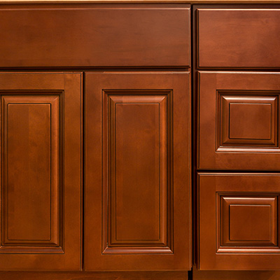 Kingston Brown Bathroom Cabinets