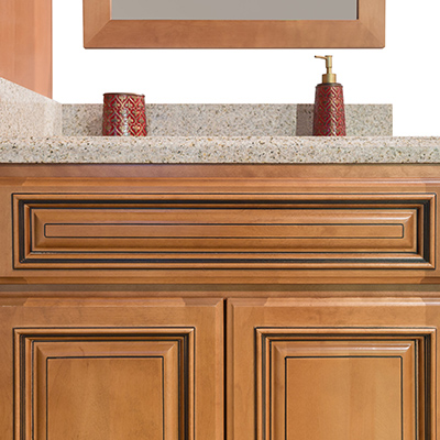 Maple Glaze Bathroom Cabinets