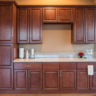 Kingston Brown Kitchen Cabinets