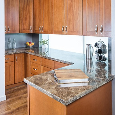 Shaker Cherry Kitchen Cabinets