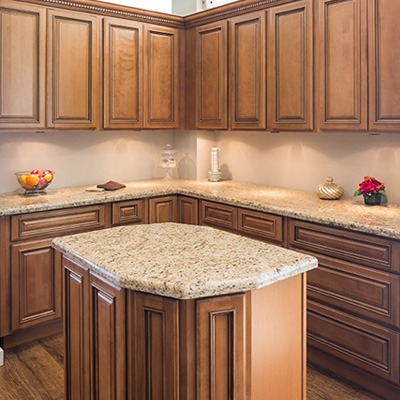 Exceptionnel Maple Glaze Kitchen Cabinets