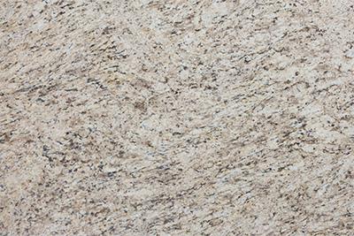 Giallo Ornamental Granite Kitchen Countertop