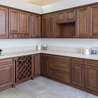 Charleston Saddle Kitchen Cabinets